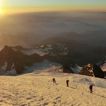 Sunrise on Rainier