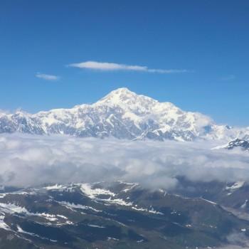 Denali from Plane