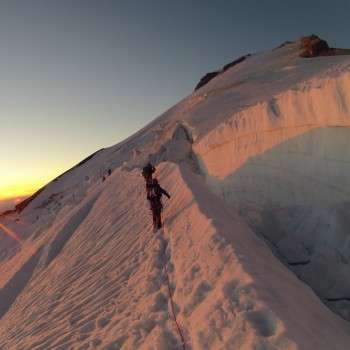 Crevasse to the Right
