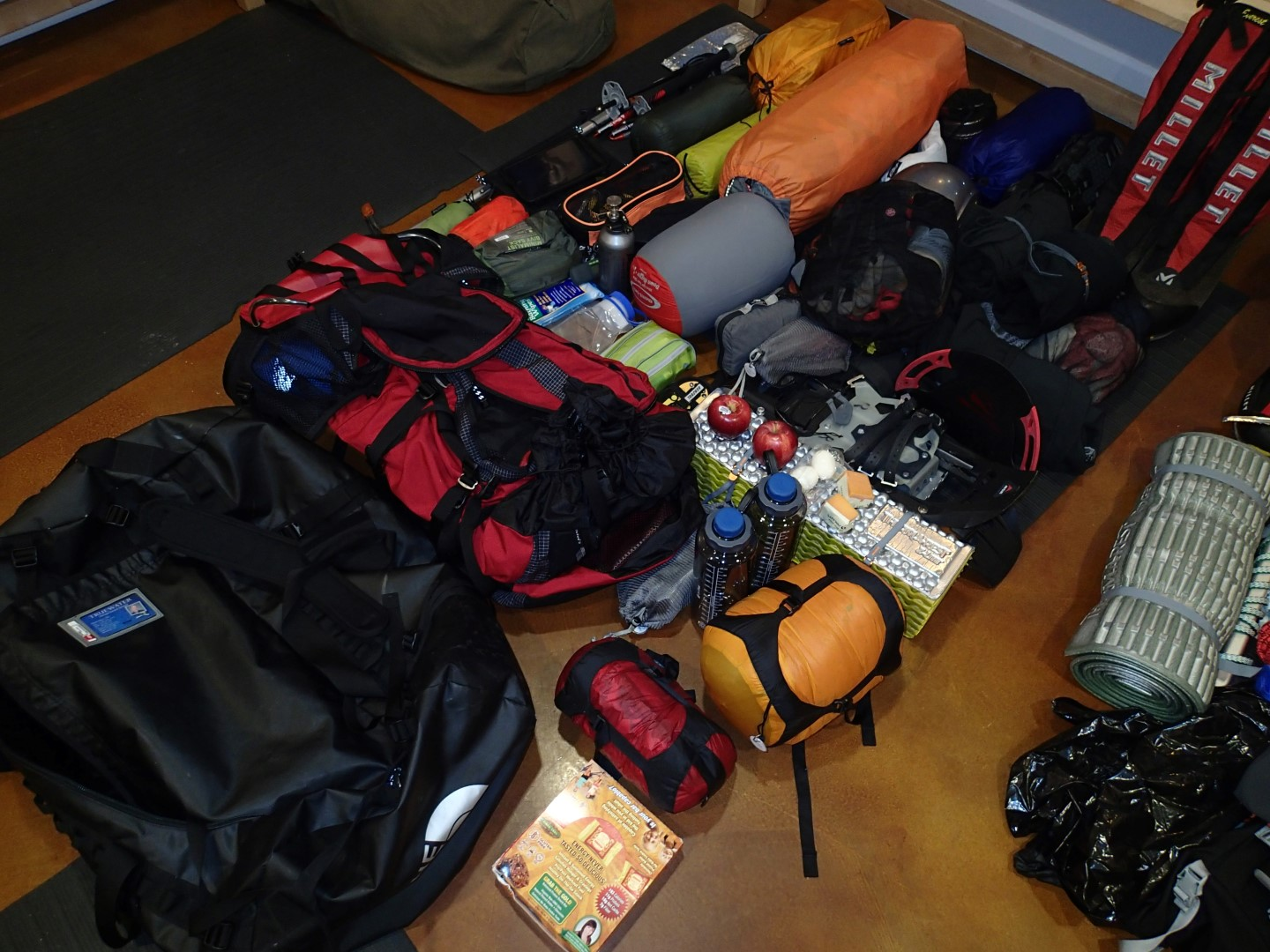 Rob's Loadout was 113lbs