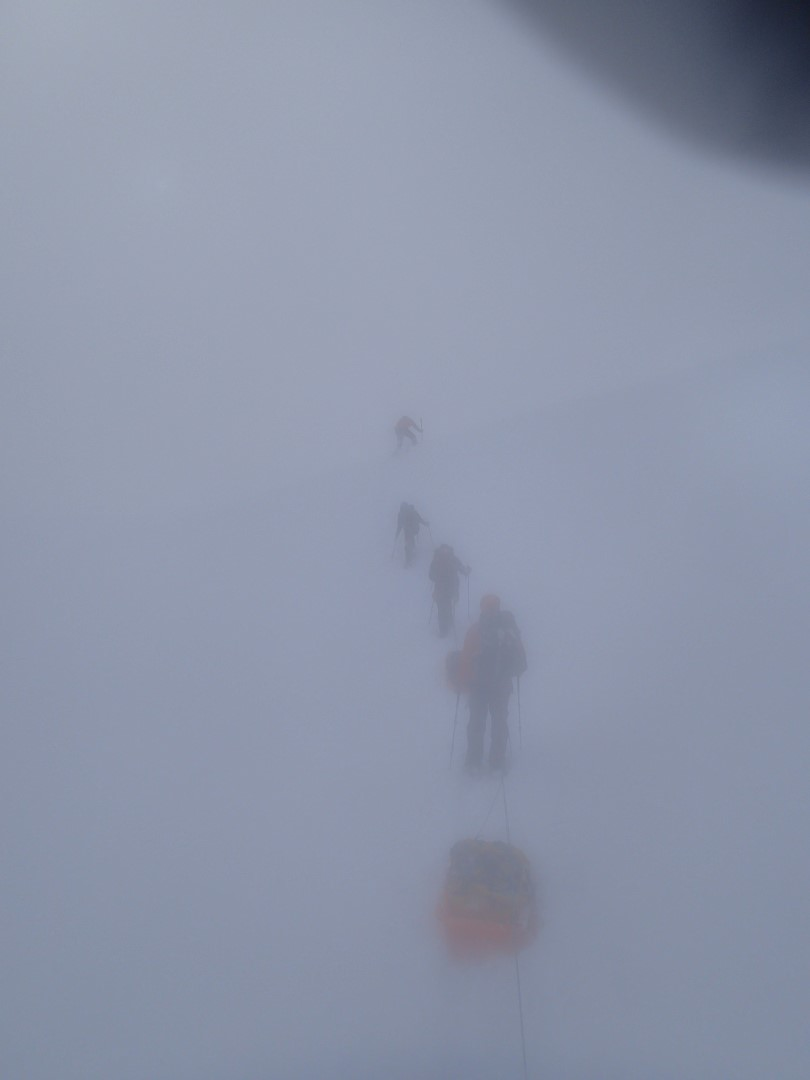 The visibility was generally very limited.