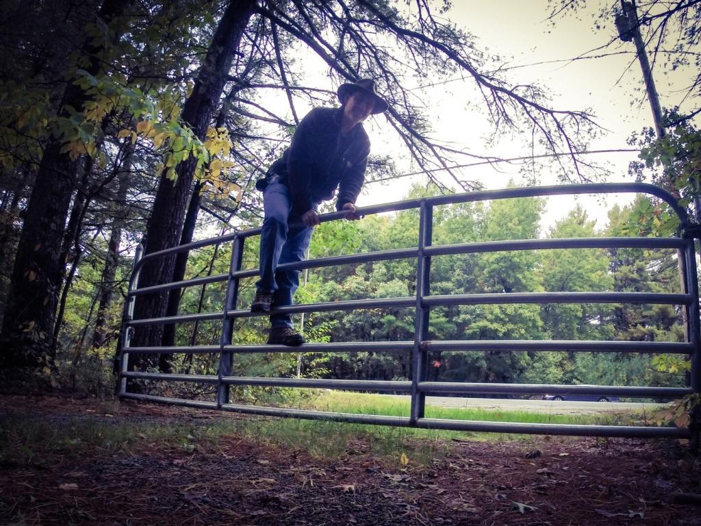 Jerimoth, RI Climbing Fence