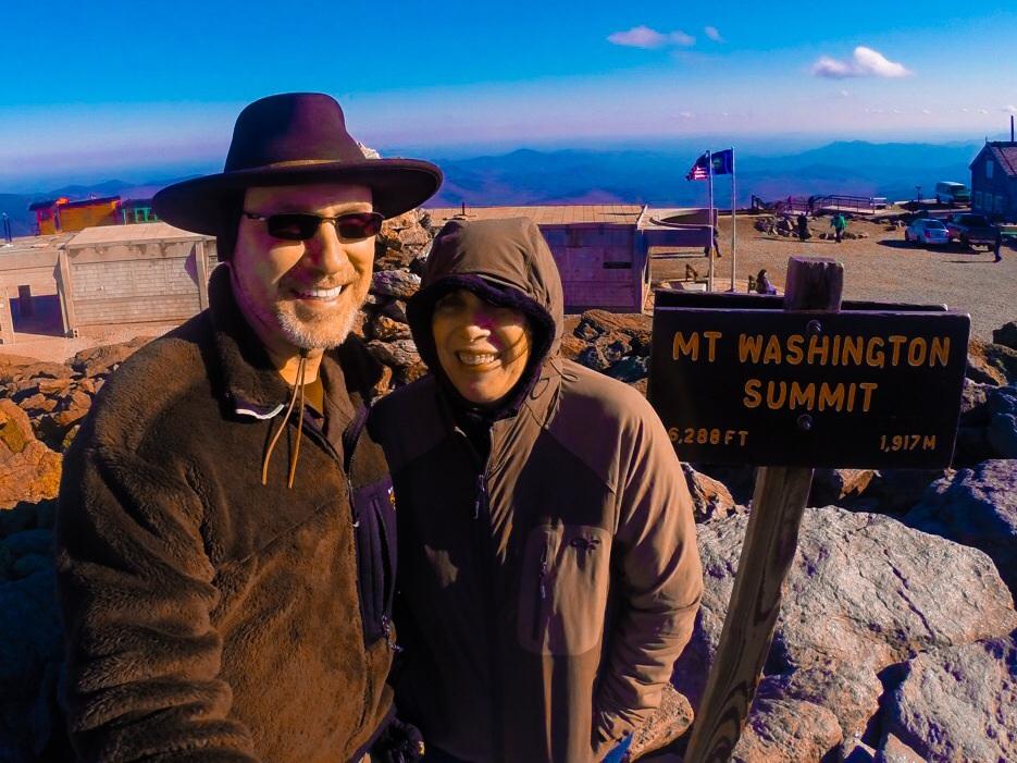 Mt Washington, NH Summit Photo