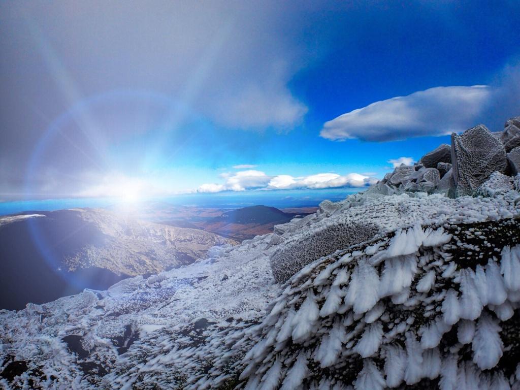 Mt Katahdin, ME Valley View Ryhme Ice
