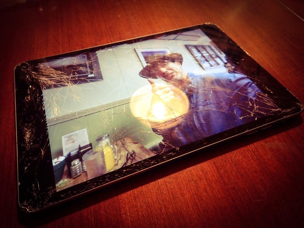 Busted iPad
