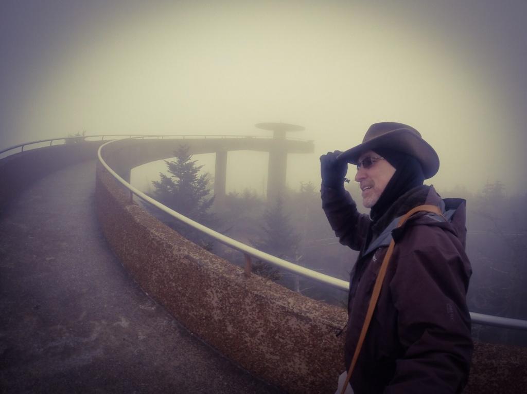 Clingmans Dome TN Tower Ascent