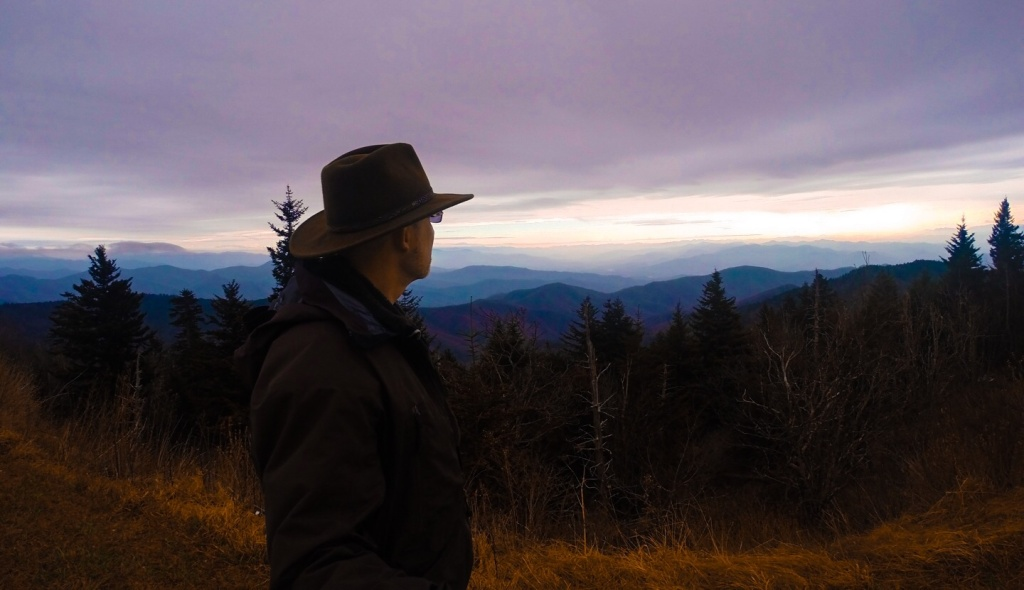 Clingmans Dome TN Weather Lifting 1