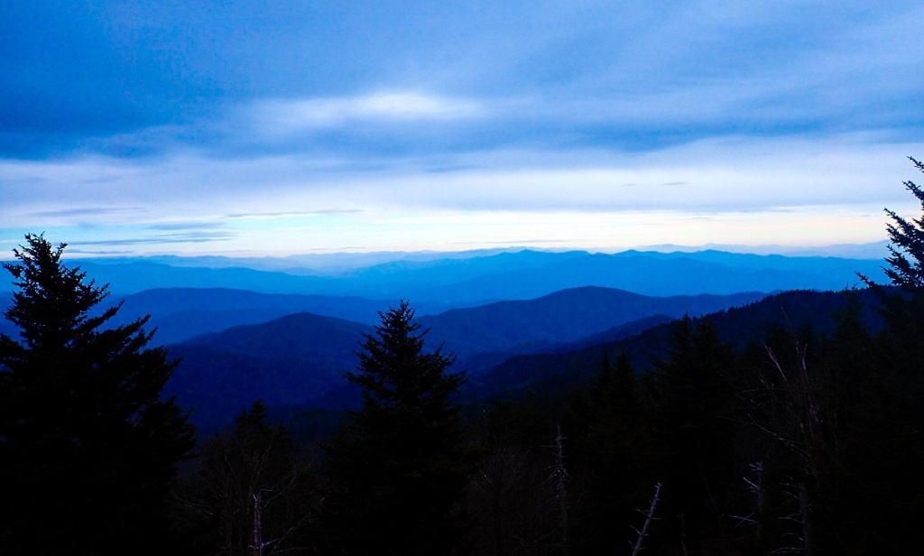 Clingmans Dome TN Weather Lifting 2