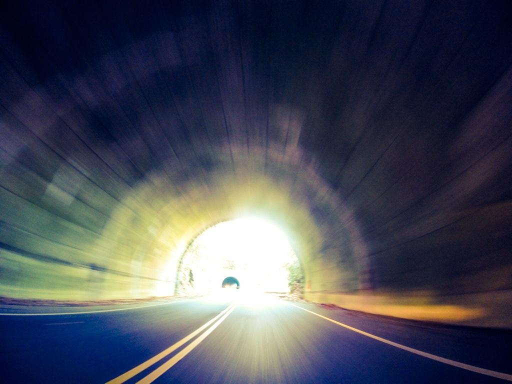 Mt Mitchell NC  Tunnel