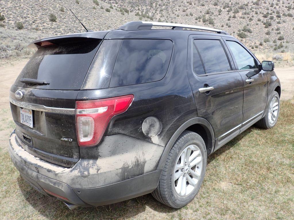 Boundary Peak Nevada - Ford Explorer