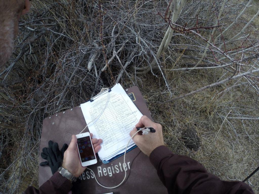 Boundary Peak Nevada - Register