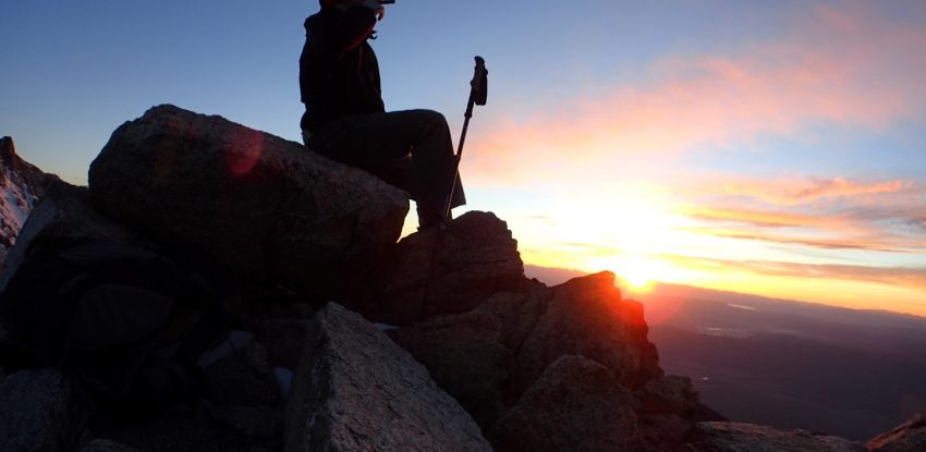 The Cigar, the Sunset and the Summit