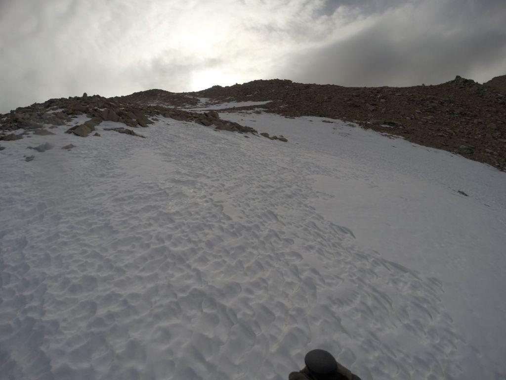 Boundary Peak Nevada - Snow