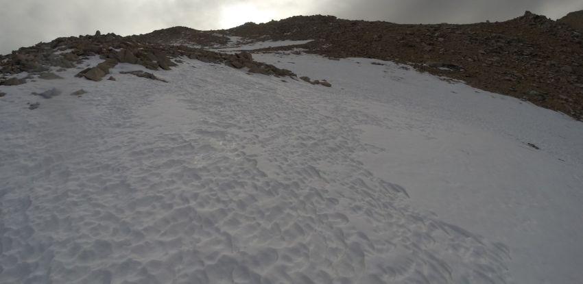 Deep Slushy Snow, Making Progress Slow