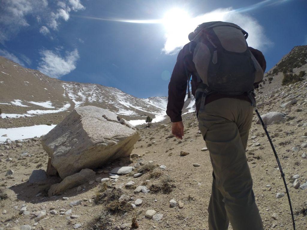 Boundary Peak Nevada - Cache