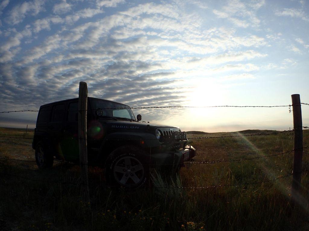 White Butte North Dakota Jeep