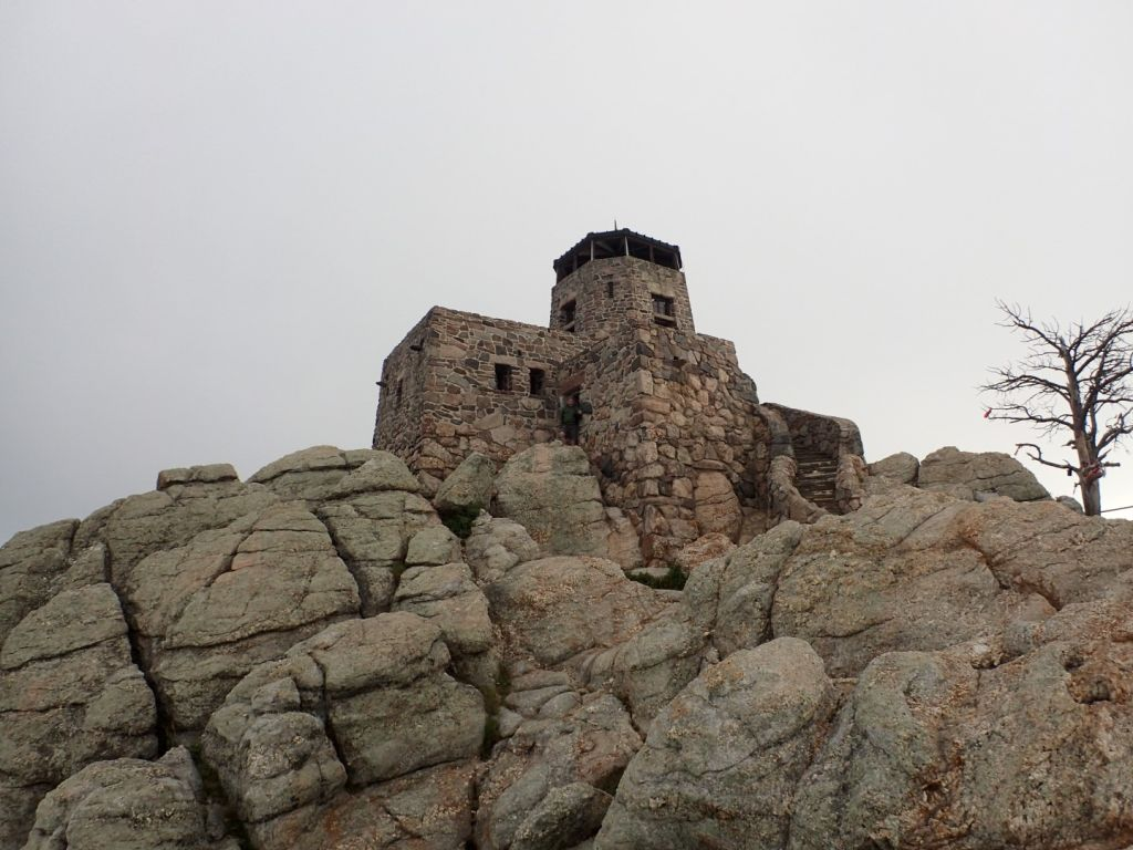 The Harney Peak Summit Structure