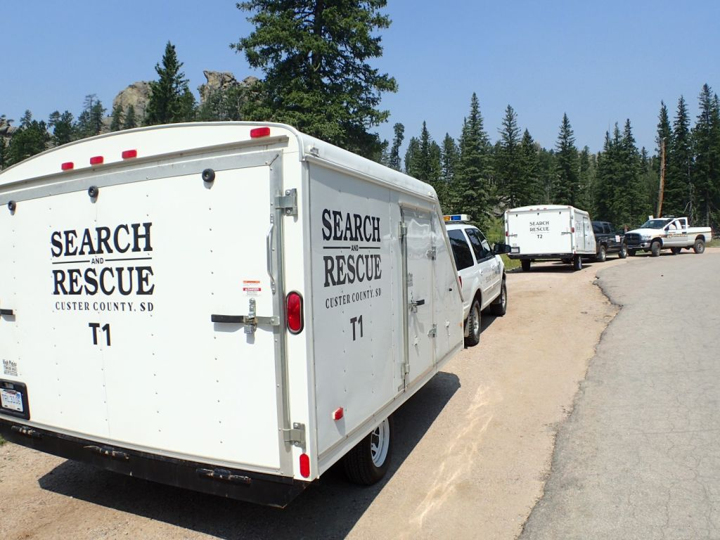 Some of the many Search & Rescue Units
