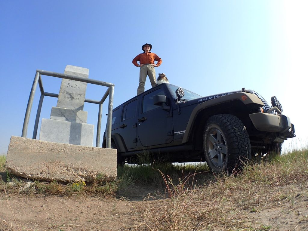 Panorama Point NE Jeep Roof