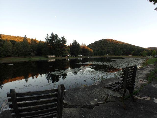 The unusually quaint RV village of Silver Lake