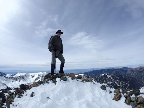 Danger stands on the summit