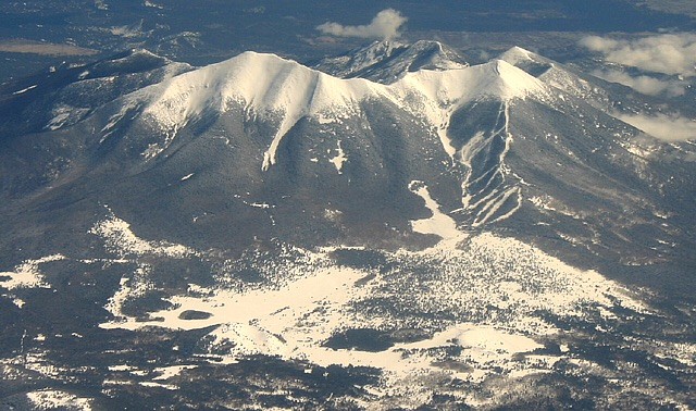 Winter Attempt of Humphreys Peak in the Morning