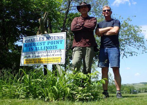 Charles Mound Summit Duo Manly Men