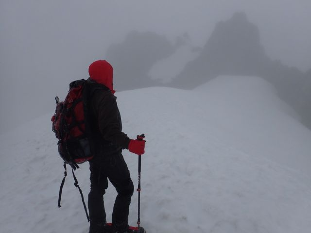 The visibility during my first attempt was very limited.