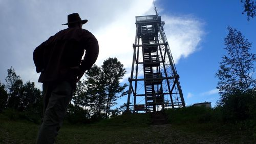 Timm's Hill is crowned with an observation tower.